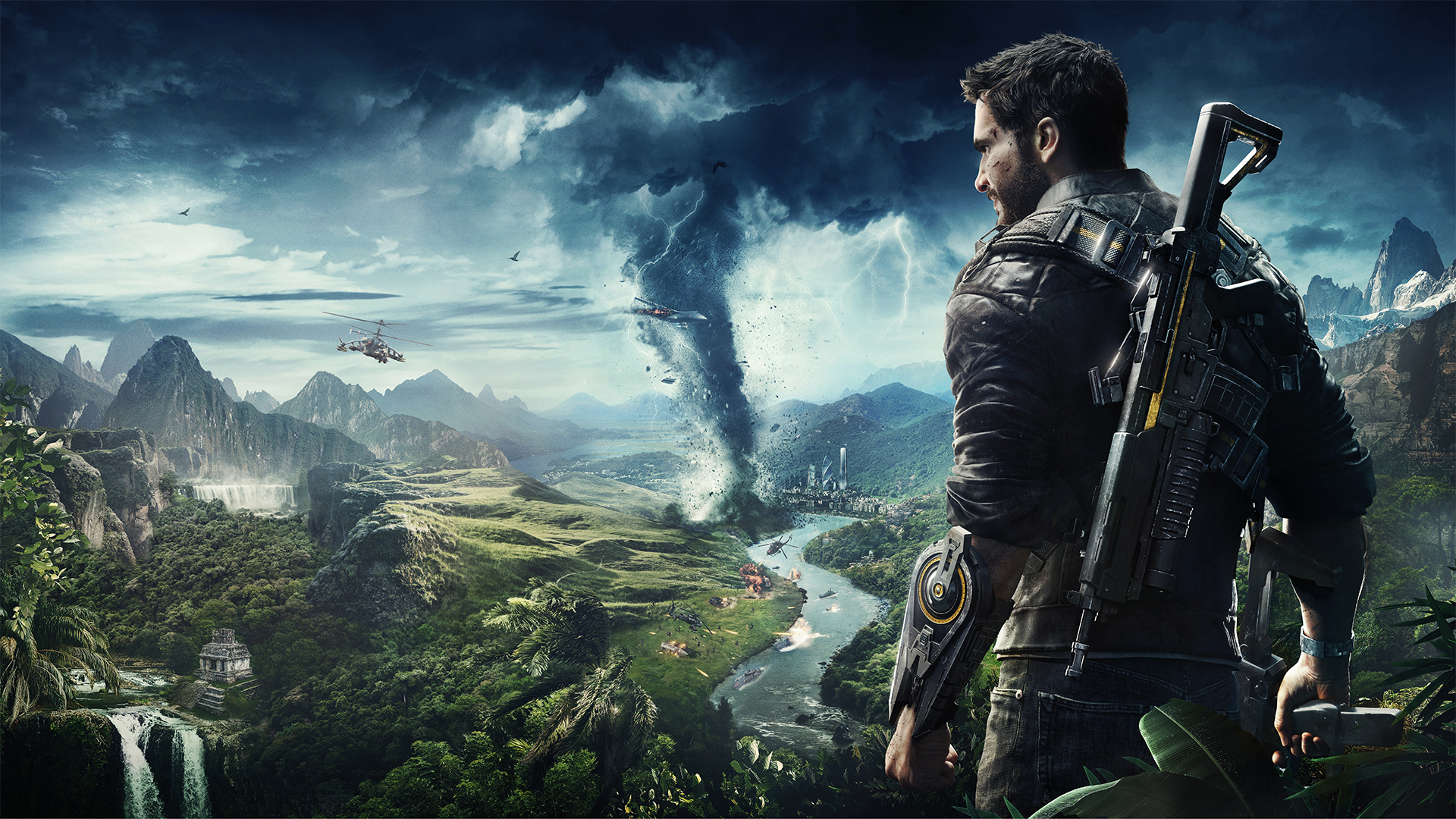 Just Cause 4 Review \u2014 Grappling with Monotony