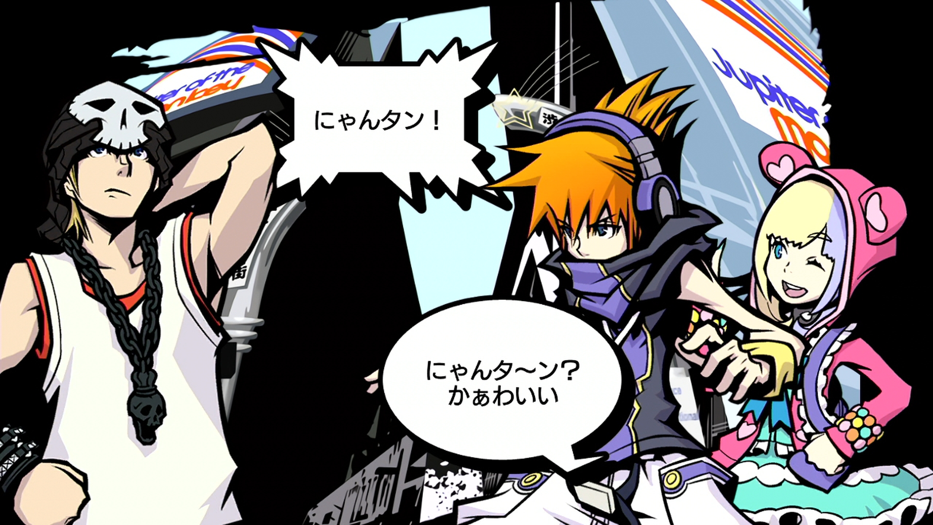 The World Ends With You For Nintendo Switch Gets 1080 Screenshots