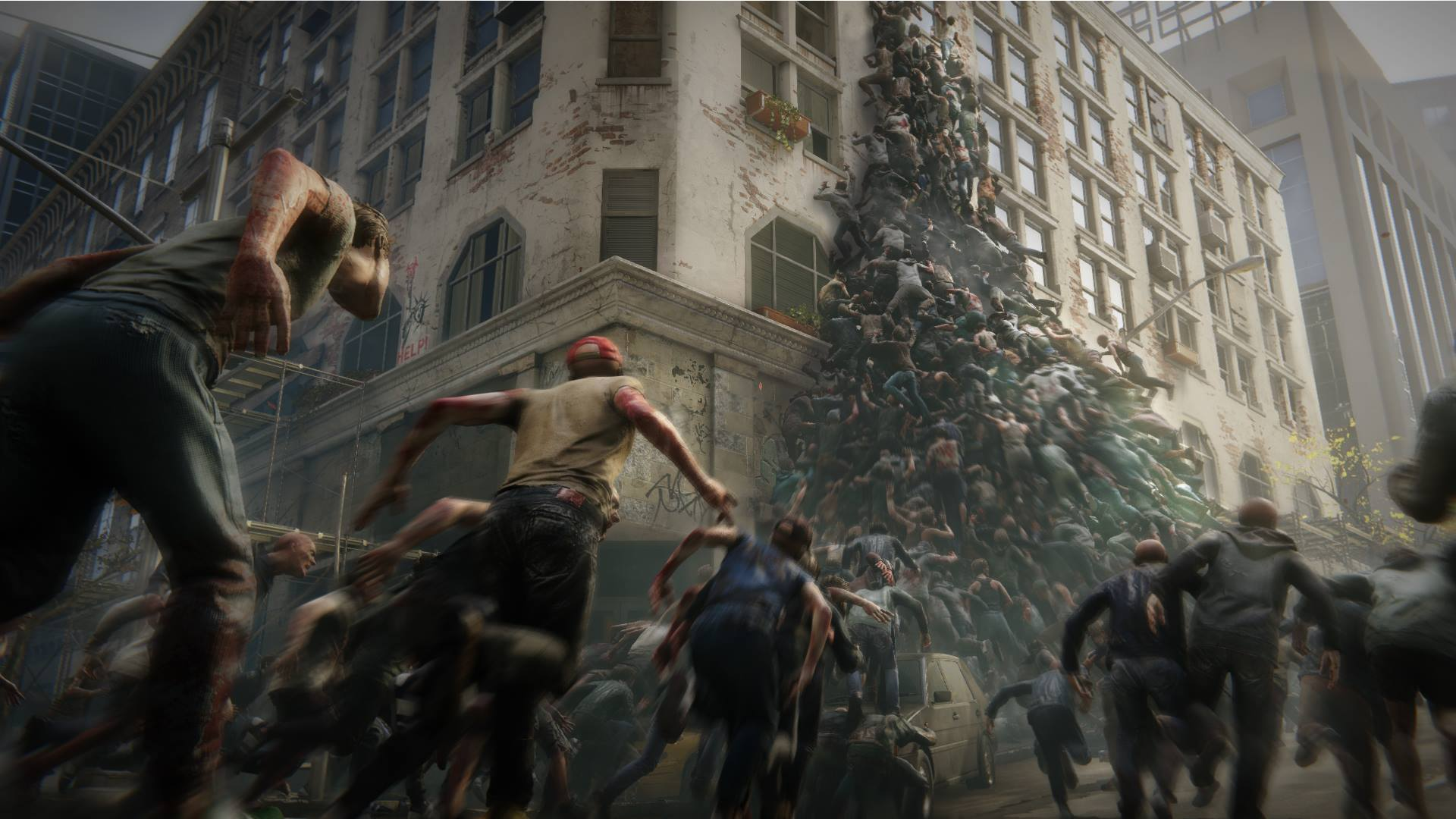 World War Z's Horde Mode Sees Hundreds of Zombies Attacking