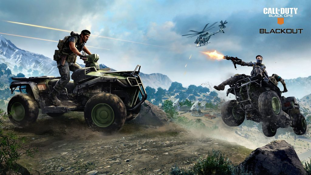 Call of Duty: Black Ops 4's New Tactical Bike Gets Spotlight in New Trailer