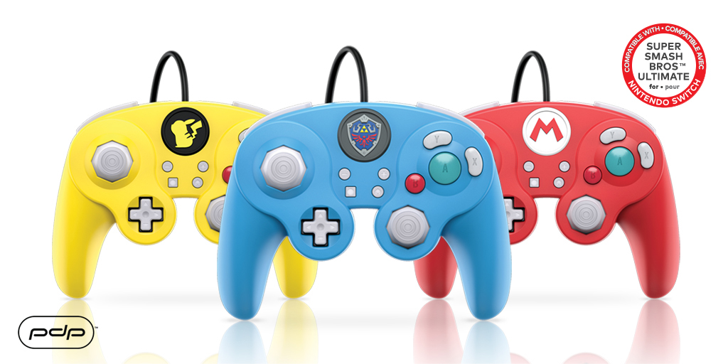 New Nintendo Switch GameCube Controllers Arriving in Time for Super