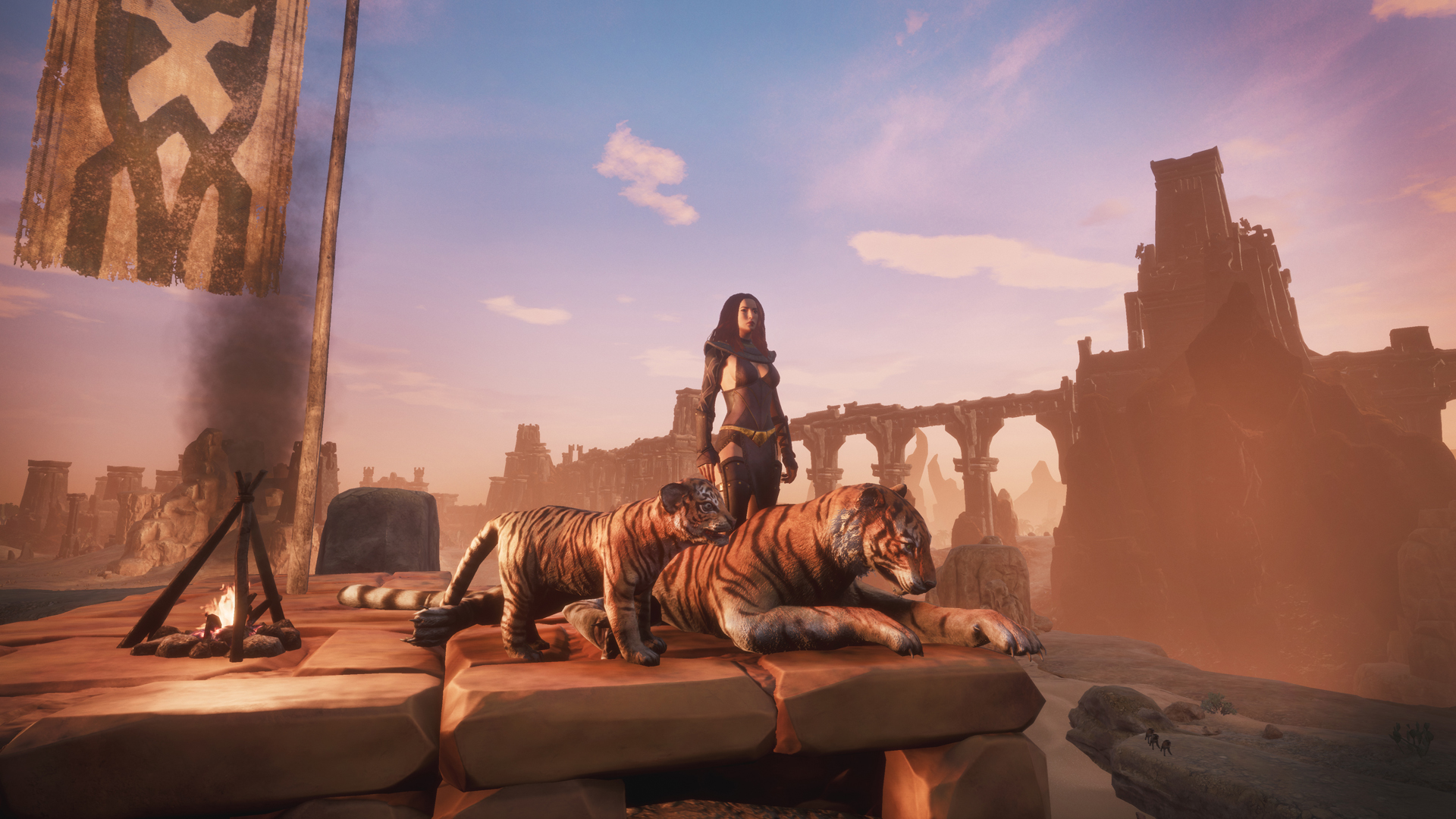 Conan Exiles Free Update Introduces Pets, Midnight Grove Dungeon