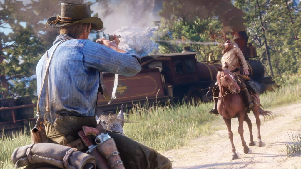 Red Dead Redemption 2 Leaps Over Resident Evil 2 and Kingdom Hearts III to Reclaim Top Position on UK Sales Chart