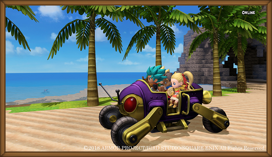 Dragon Quest Builders 2 Online Multiplayer Mode Gets First