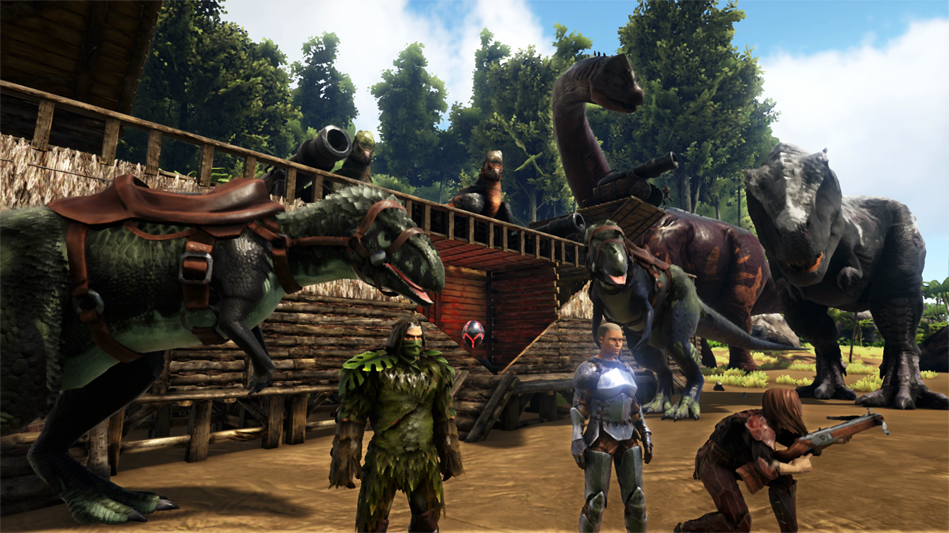 Ark Survival Evolved Is Available To Purchase On The Nintendo