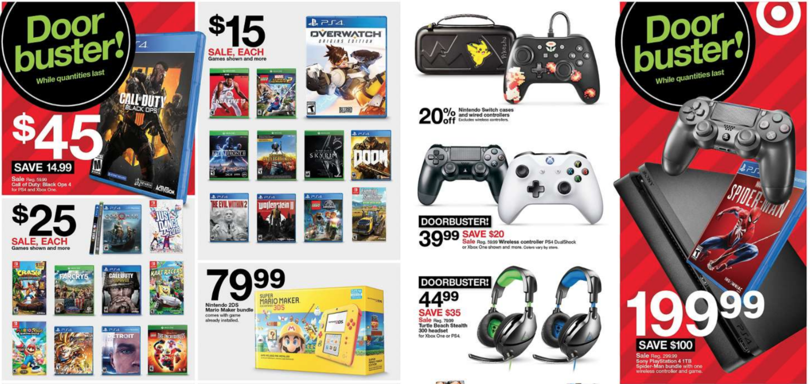 Target's Black Friday Deals Revealed, Features Spider-Man