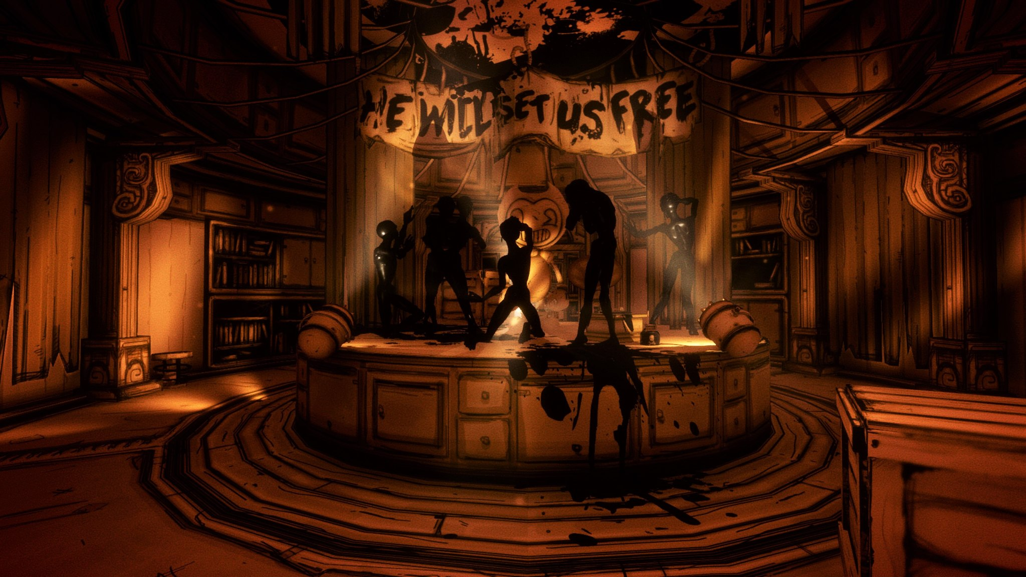 Bendy And The Ink Machine Review Back To The Drawing Board