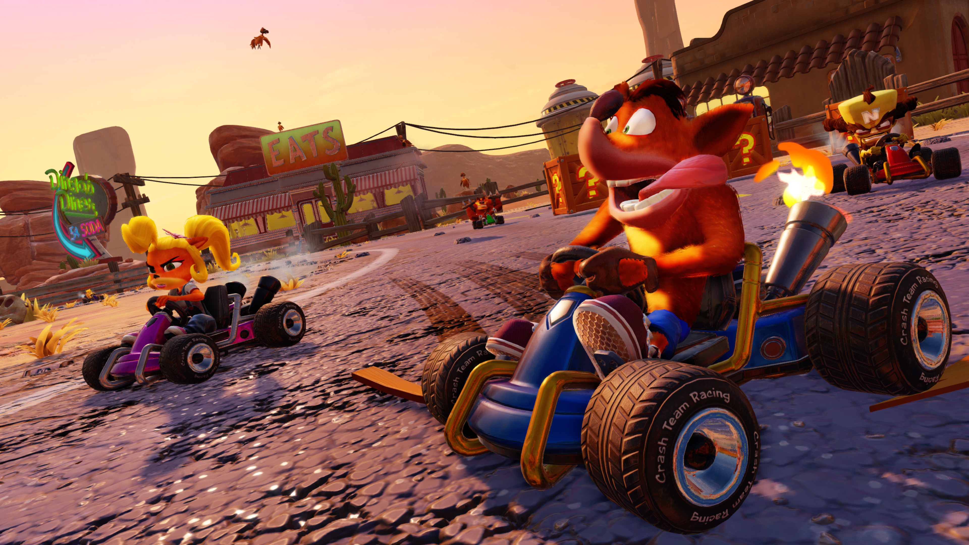 Crash Team Racing Nitro-Fueled Returns to the Top of the Weekly UK