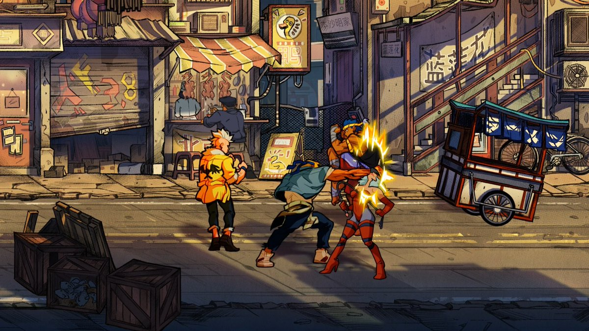 streets of rage 4 remake android