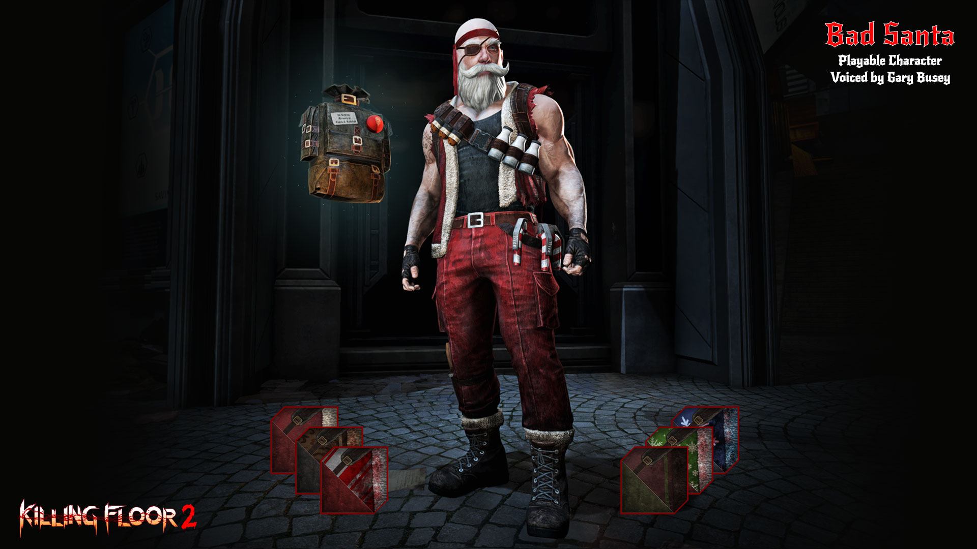 Floor 2 Twisted Christmas 2021 Release Date Killing Floor 2 Unleashes Badass Santa For Some Christmas Carnage