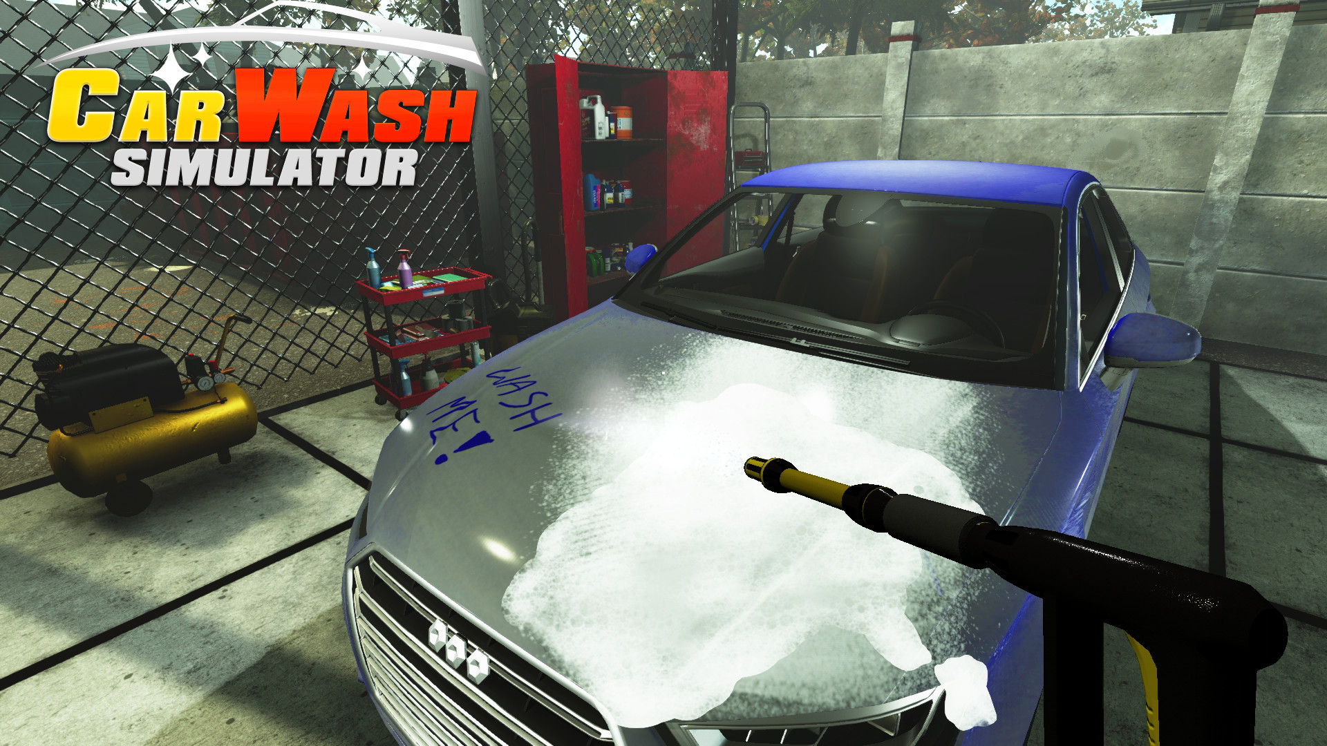 Car Wash Simulator's First Trailer Takes a Horrifying Turn Into