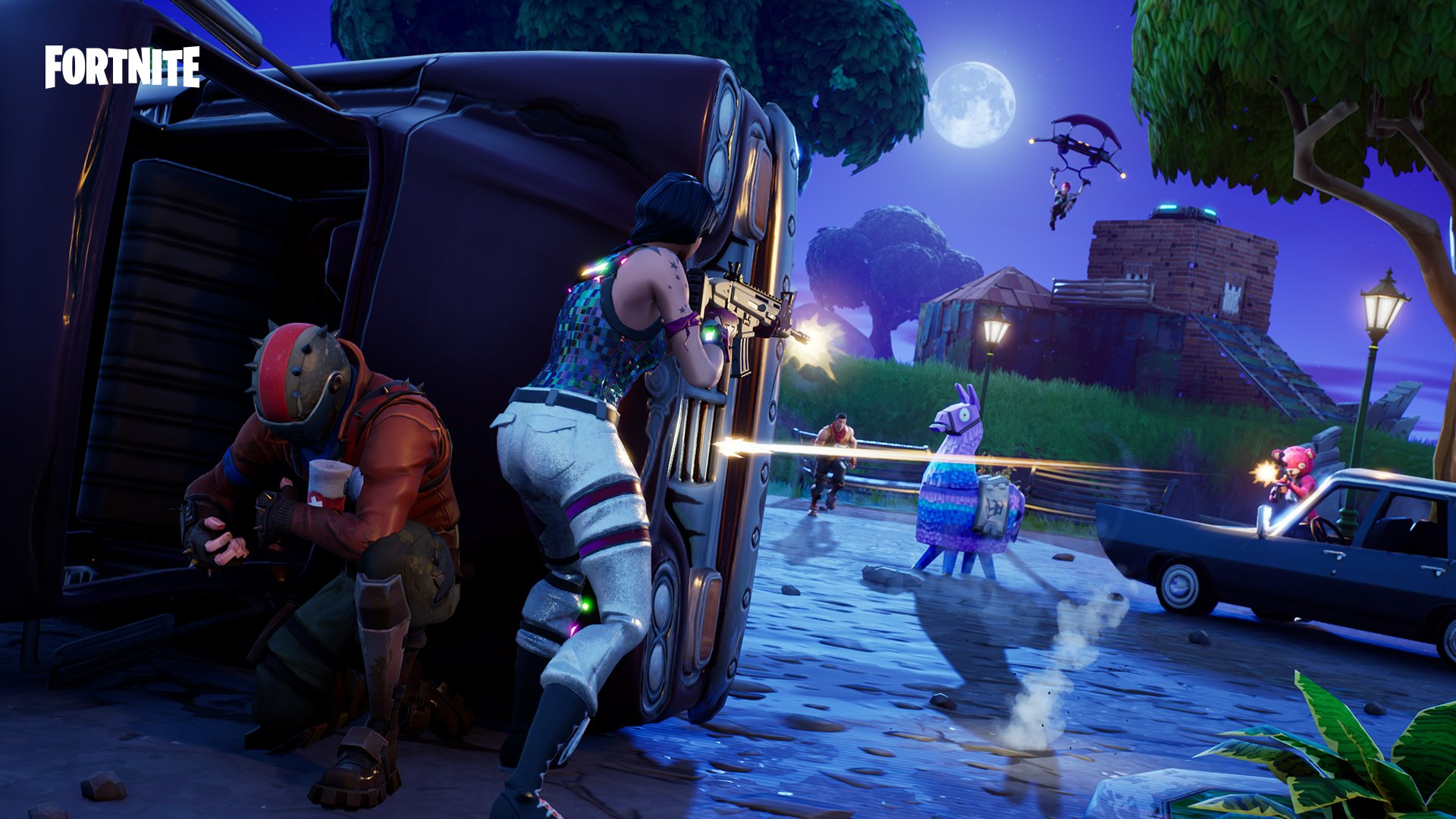 Fortnite Brings Back Limited Time Modes Team Rumble And Unvaulted Duos