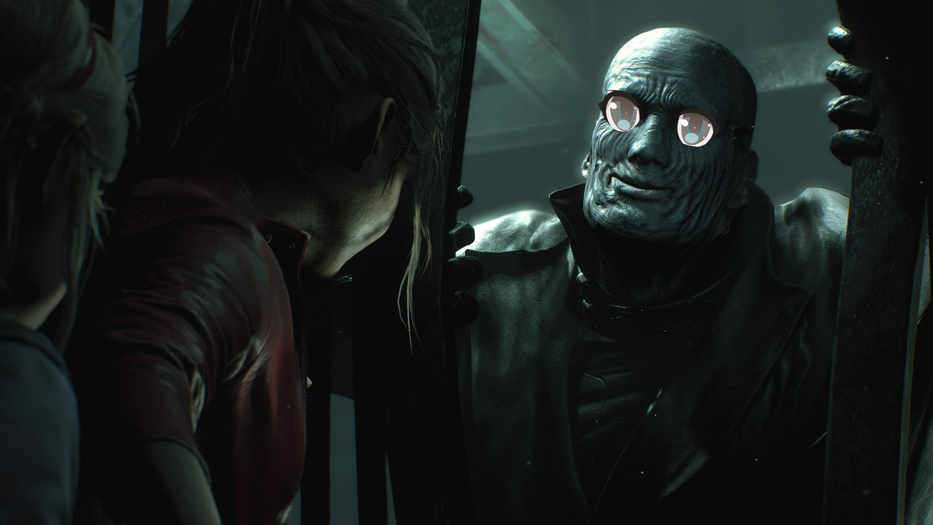 I Think I'm in Love with Mr  X from Resident Evil 2