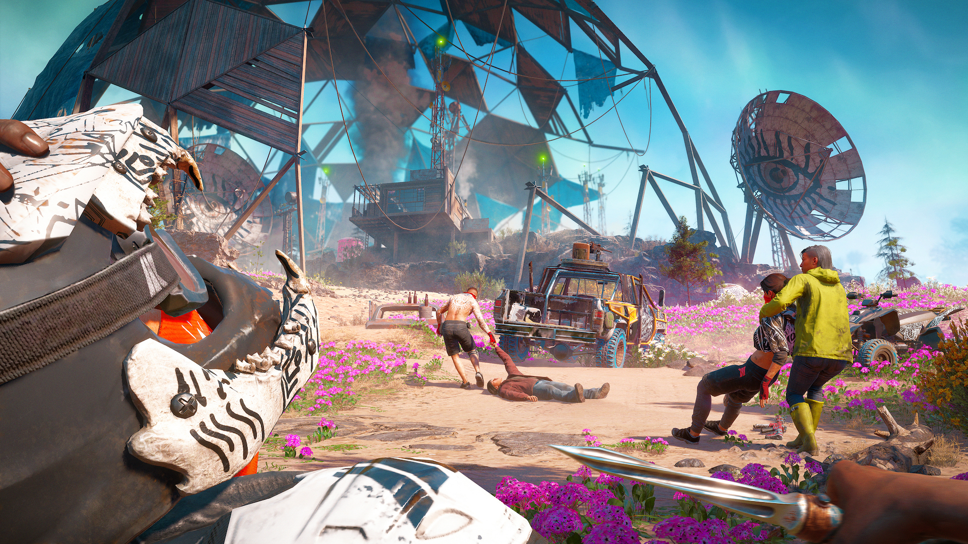 Far Cry New Dawn Is An Across The Board Post Apocalyptic Improvement
