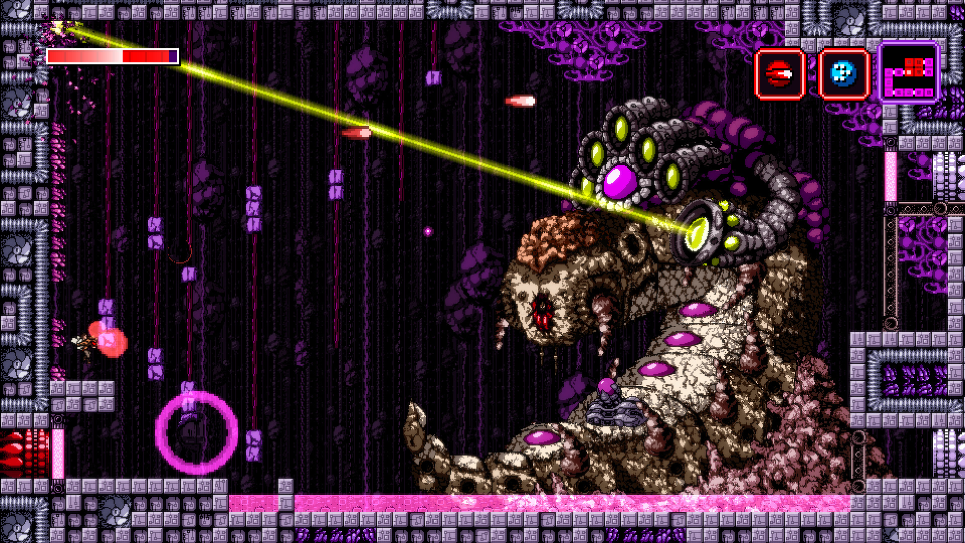 Axiom Verge Update on Epic Store Restores a