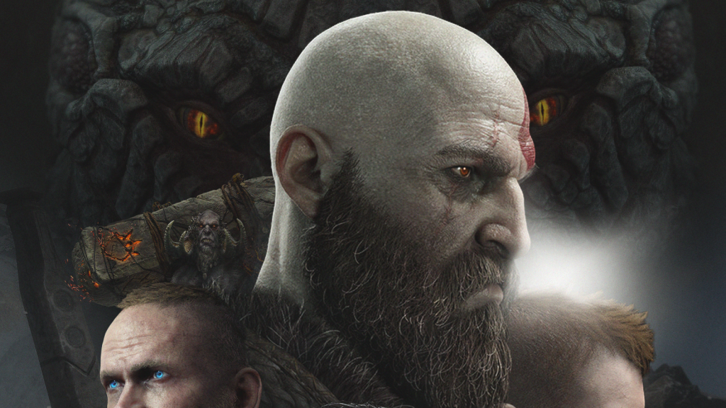 God of War Fan-Made Movie Poster Is a Work of Art