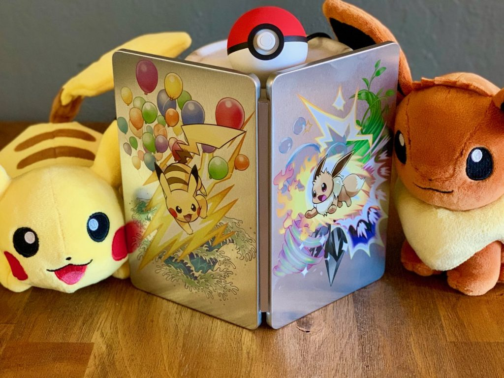 You Can Get This Awesome Pokemon: Let's Go Steelbook on Monday