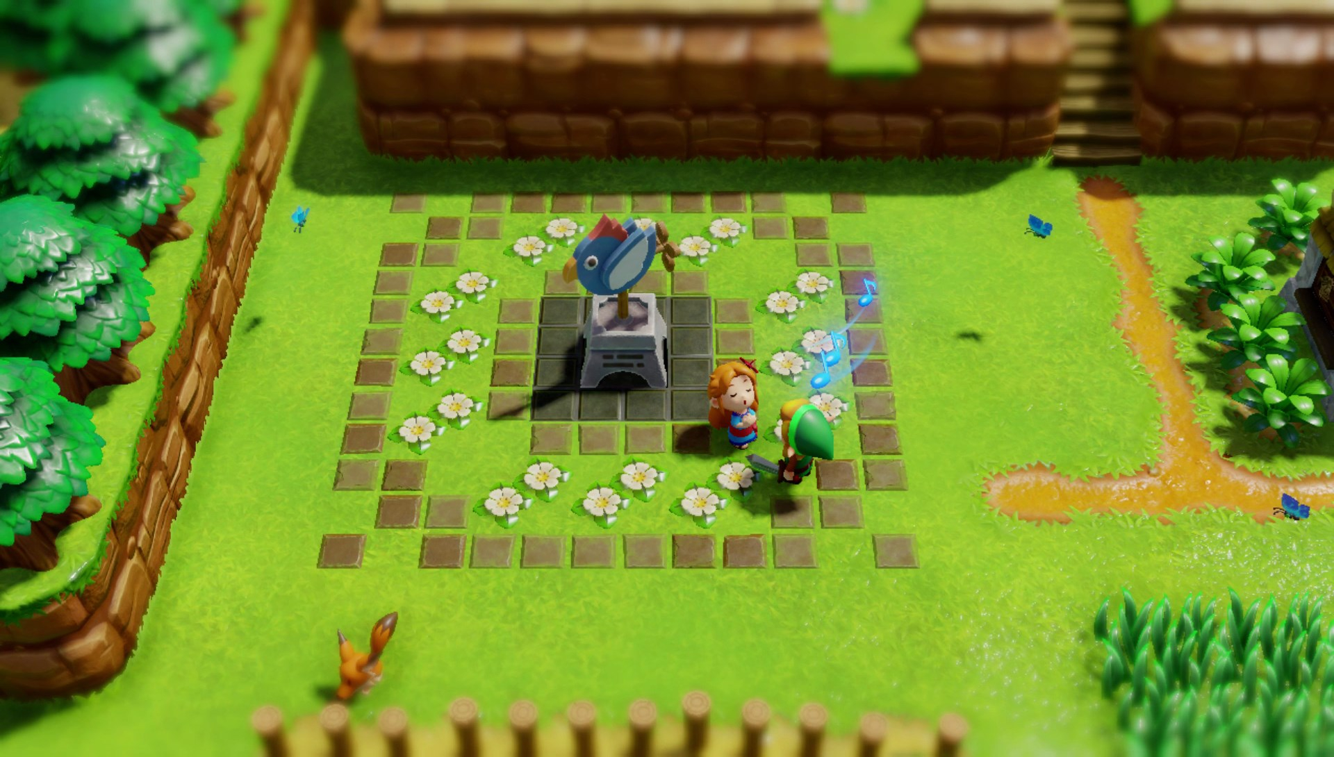 Aonuma Introduced Seamless Transitions Between Screens in Link's Awakening To Create A More Connected World