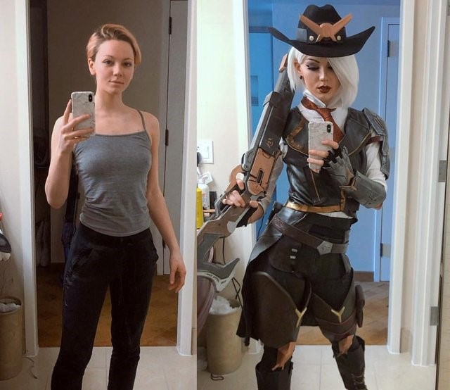 Overwatch's Ashe Transformation Is Incredible in This Convincing Cosplay