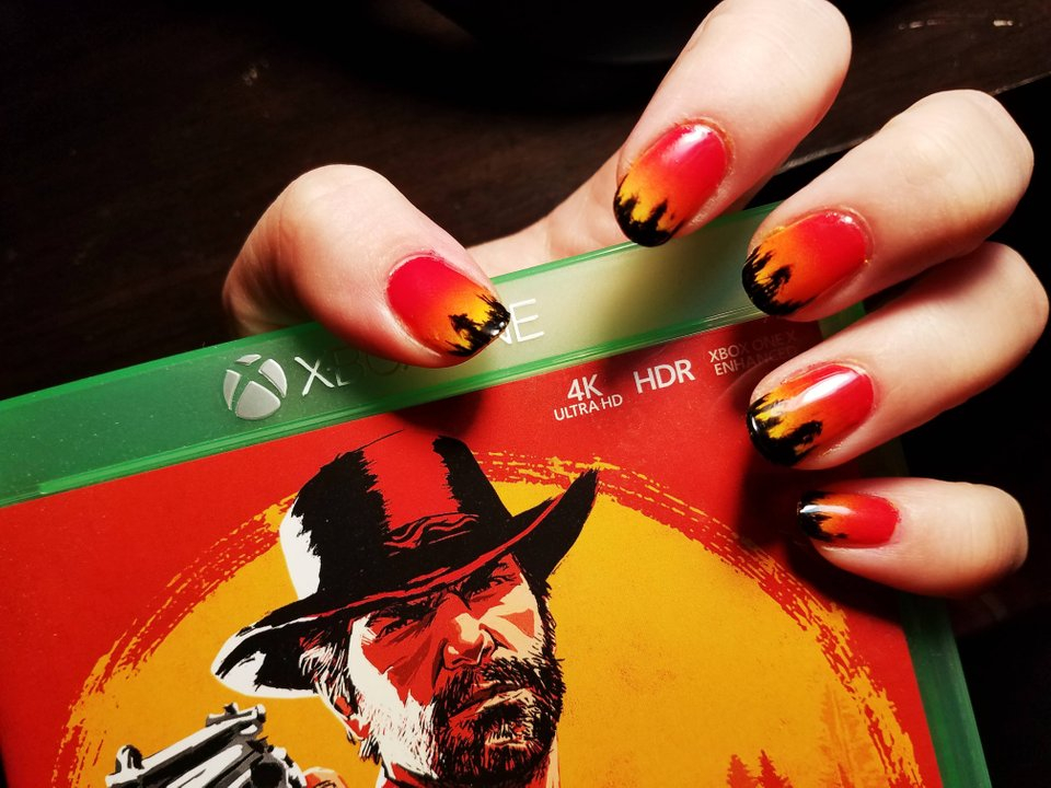 Red Dead Redemption 2 Fan Art Is Something to Sink Your Nails Into