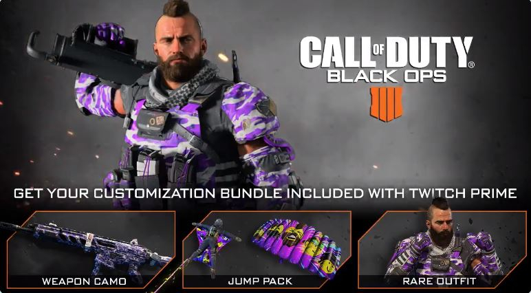 Call of Duty: Black Ops 4 Twitch Prime Customization Bundle