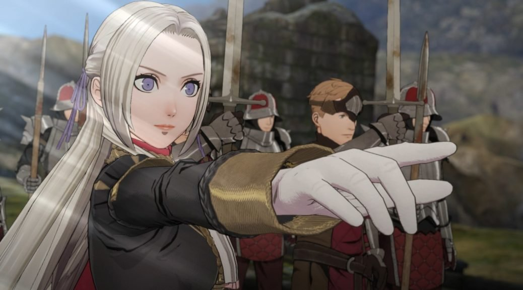 Fire Emblem Three Houses Introduces the Black Eagles with