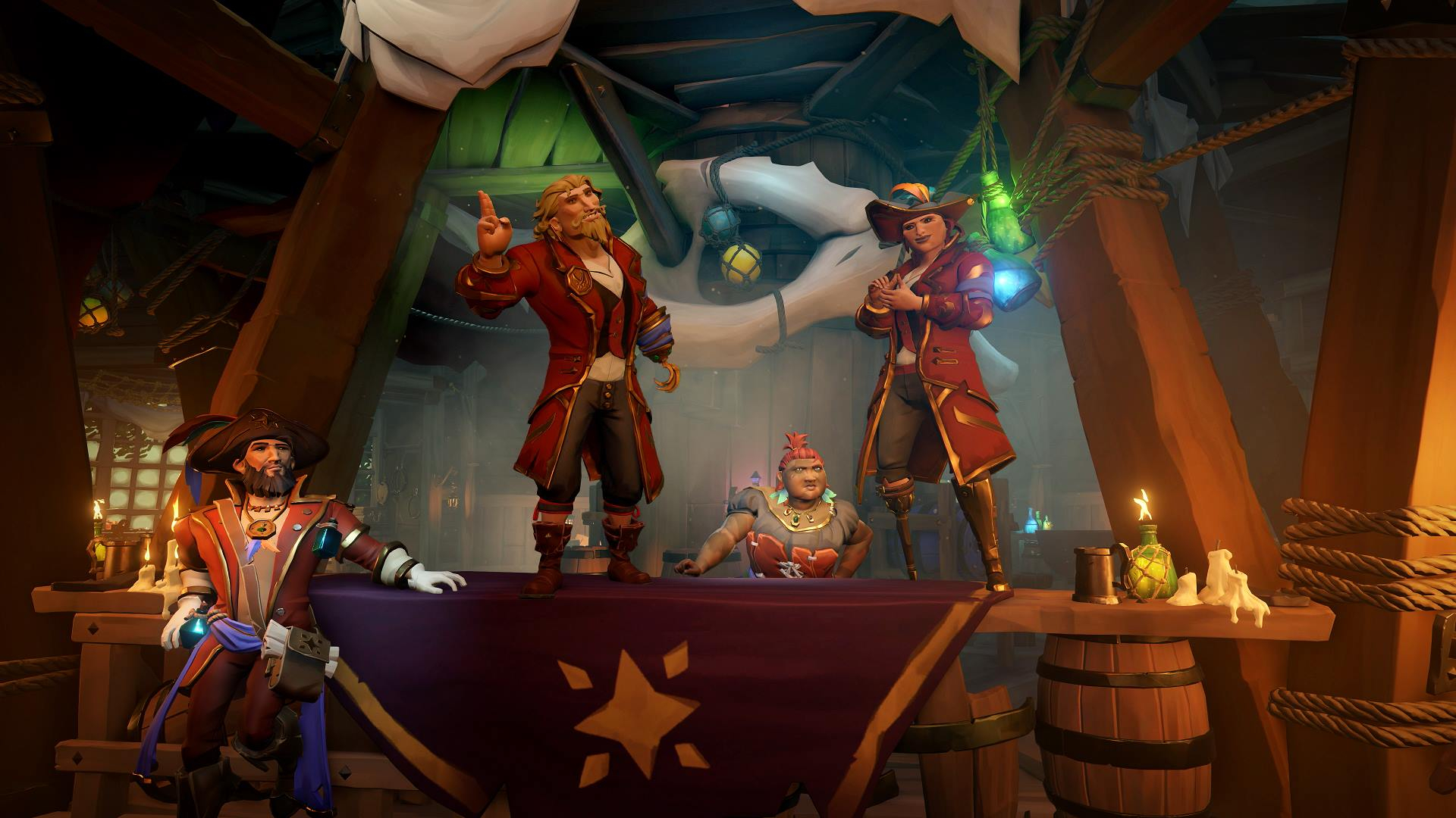 Sea of Thieves Anniversary Update Launches Today, Adds