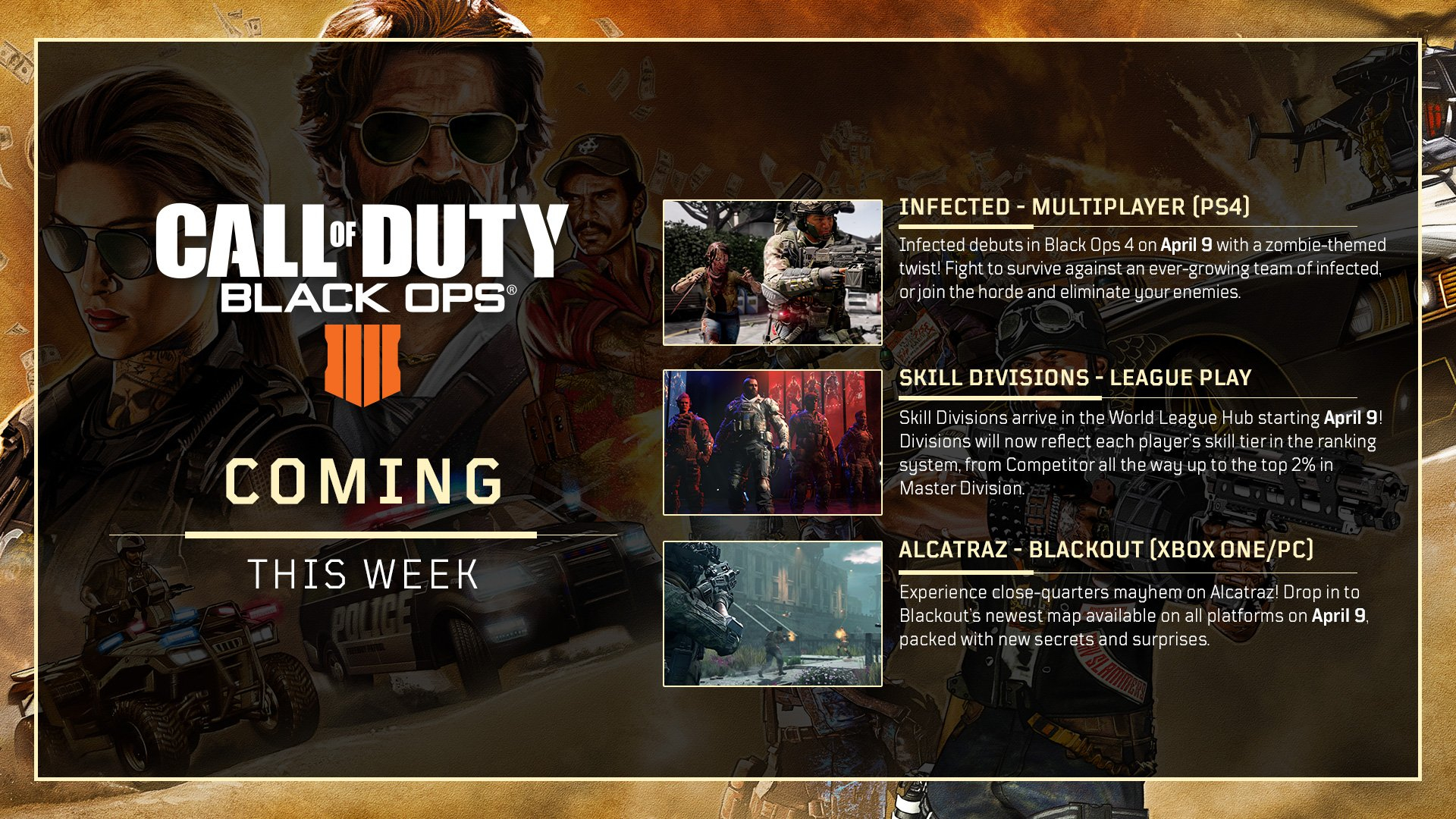 Call Of Duty Black Ops 4 To Get Infected Game Mode Tomorrow