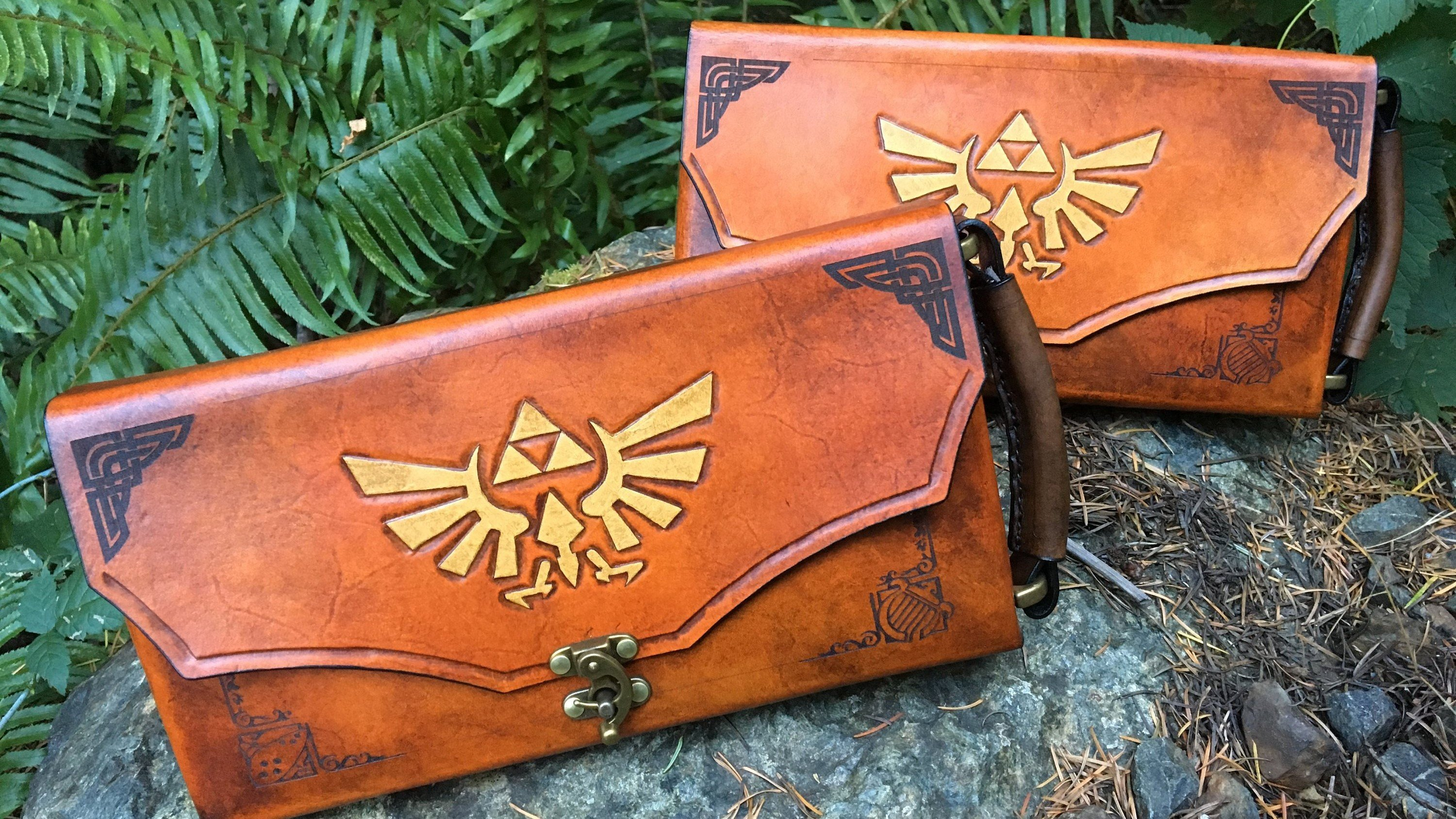 The Legend of Zelda Leather-Bound Nintendo Switch Case Is Fit for a Hero