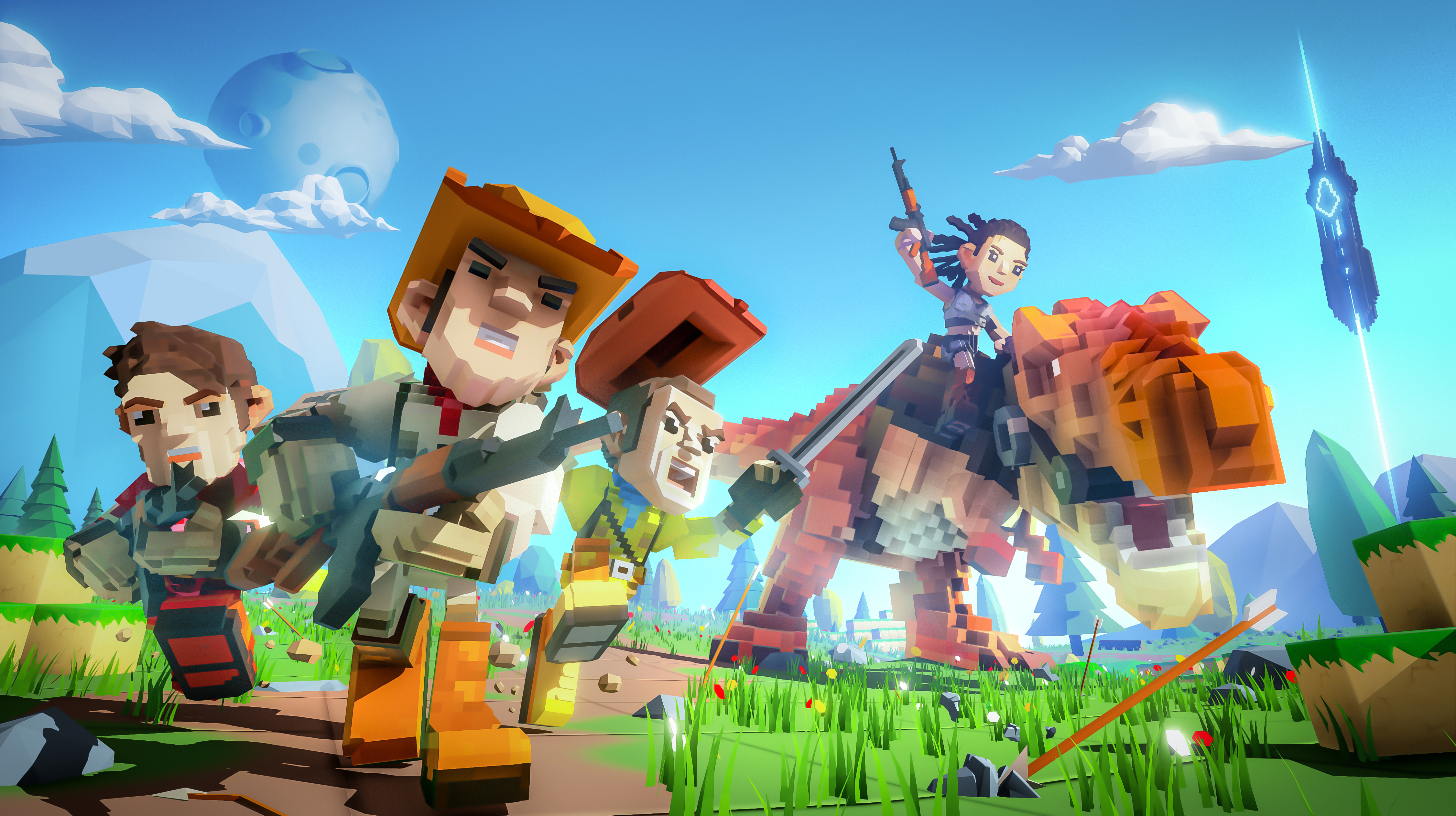 PixARK is Ready for a Full PC, PS4, Xbox One, and Nintendo Switch