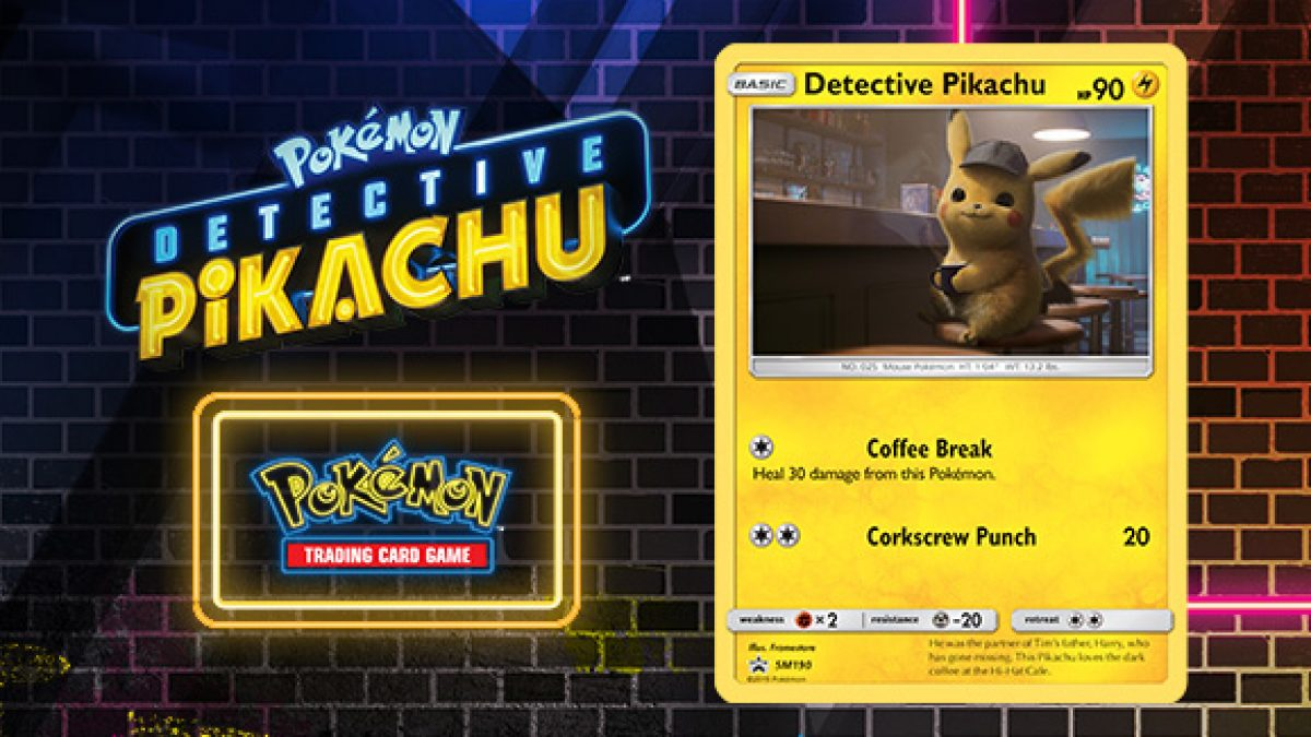 Pokemon Detective Pikachu Trading Cards To Be Given Out In