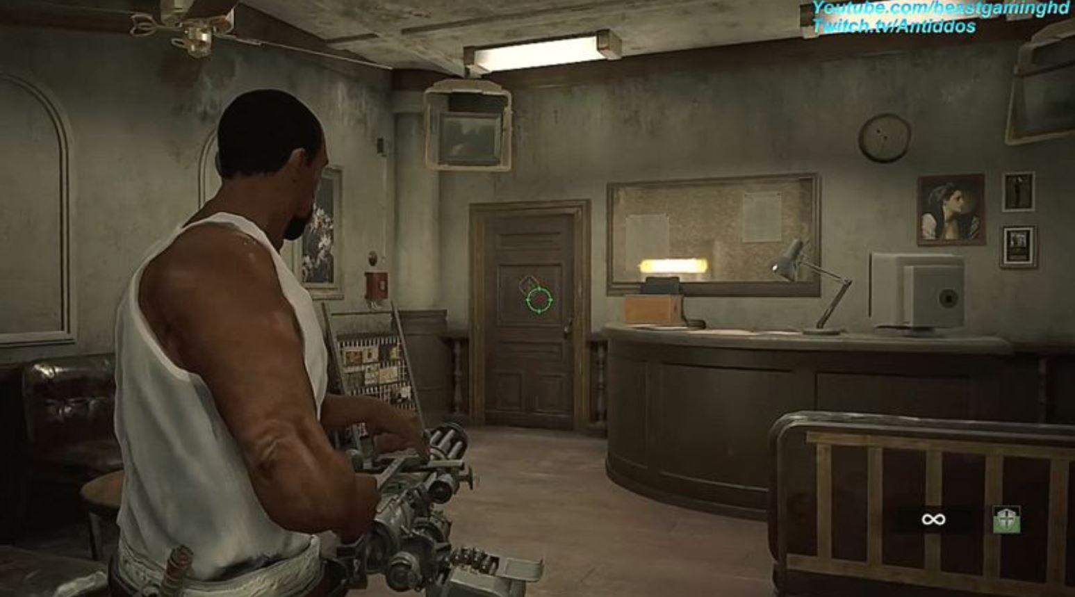 Resident Evil 2 Mod Adds CJ and Big Smoke From GTA: San Andreas