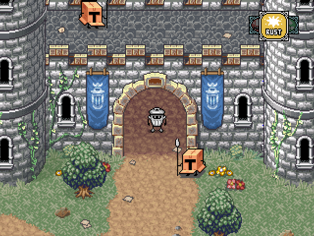 Kingdoms of the Dump Lets You Play as an Anthropomorphic Trashcan Knight