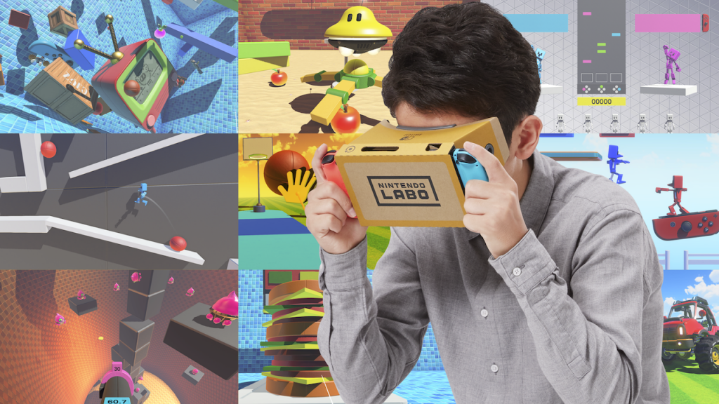Unity Now Supports Nintendo Labo VR on the Switch
