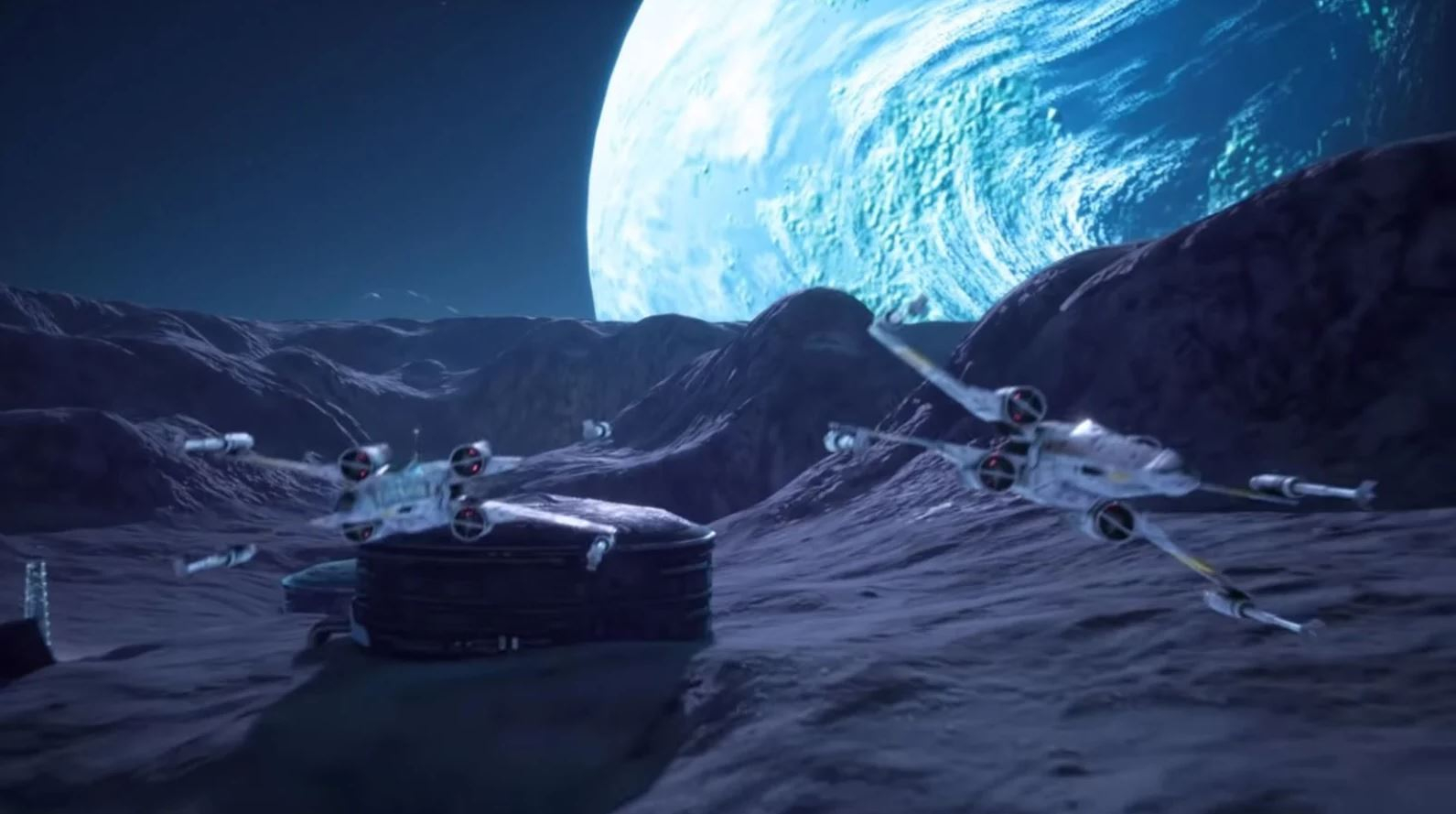 This Unreal Engine Remake of Star Wars: Rogue Squadron Looks Awesome