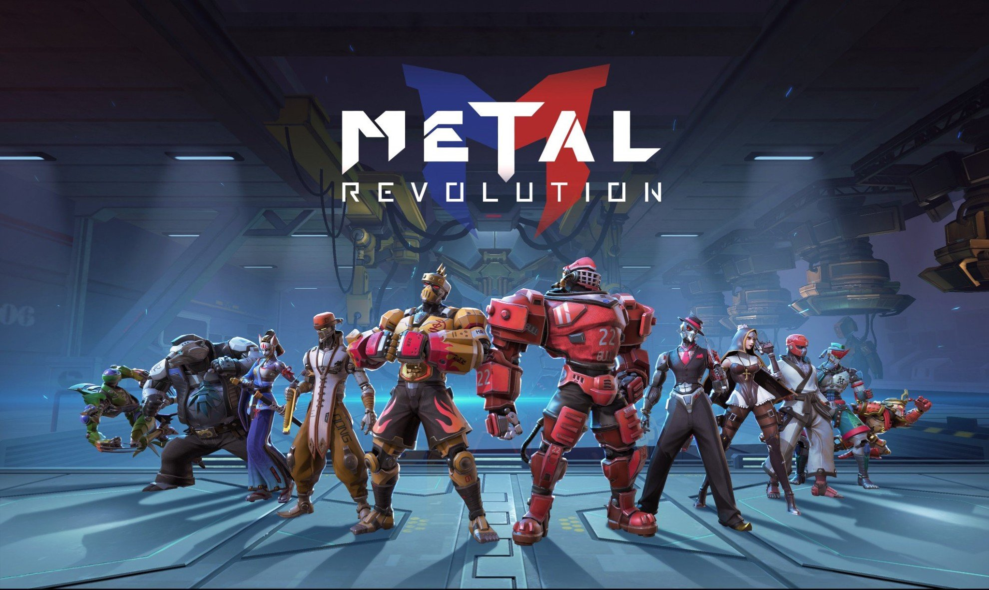 Fighting Game Metal Revolution Gets a Stylish New Trailer