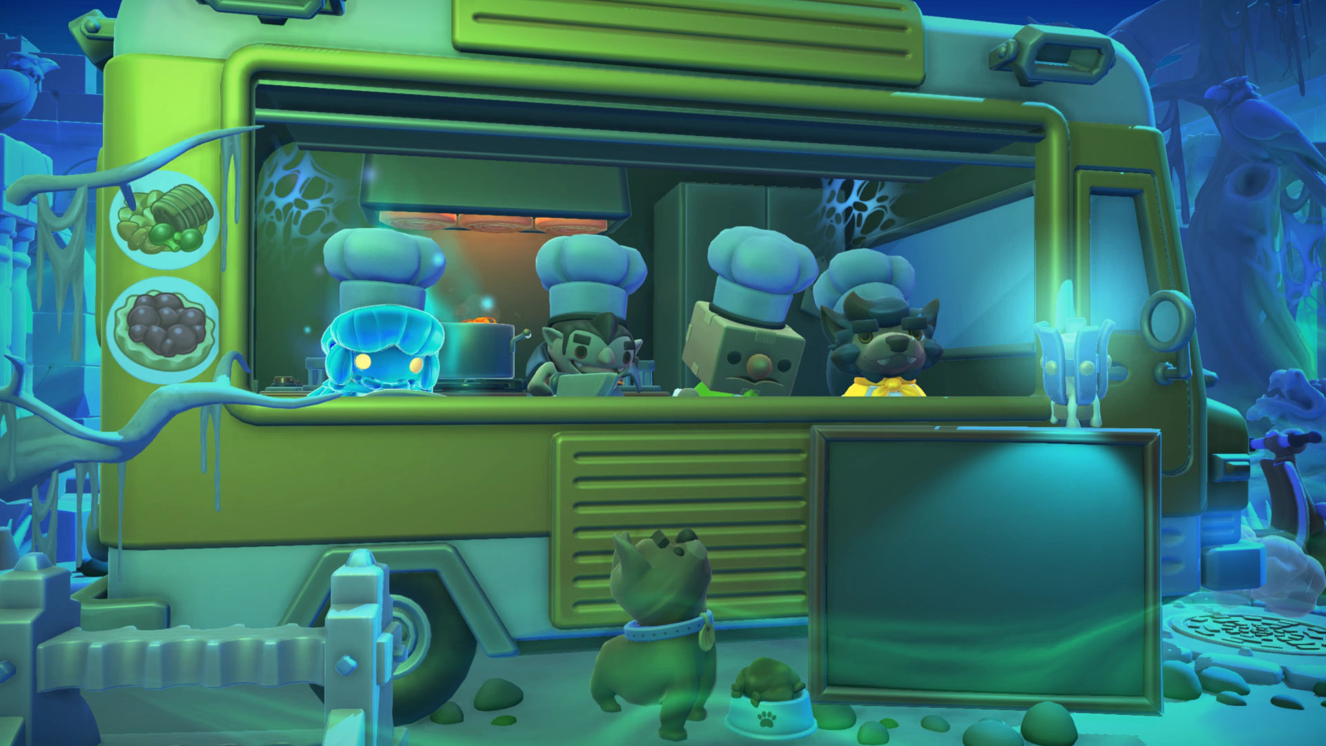 Overcooked! 2: Night of the Hangry Horde DLC Adds a Diabolical New