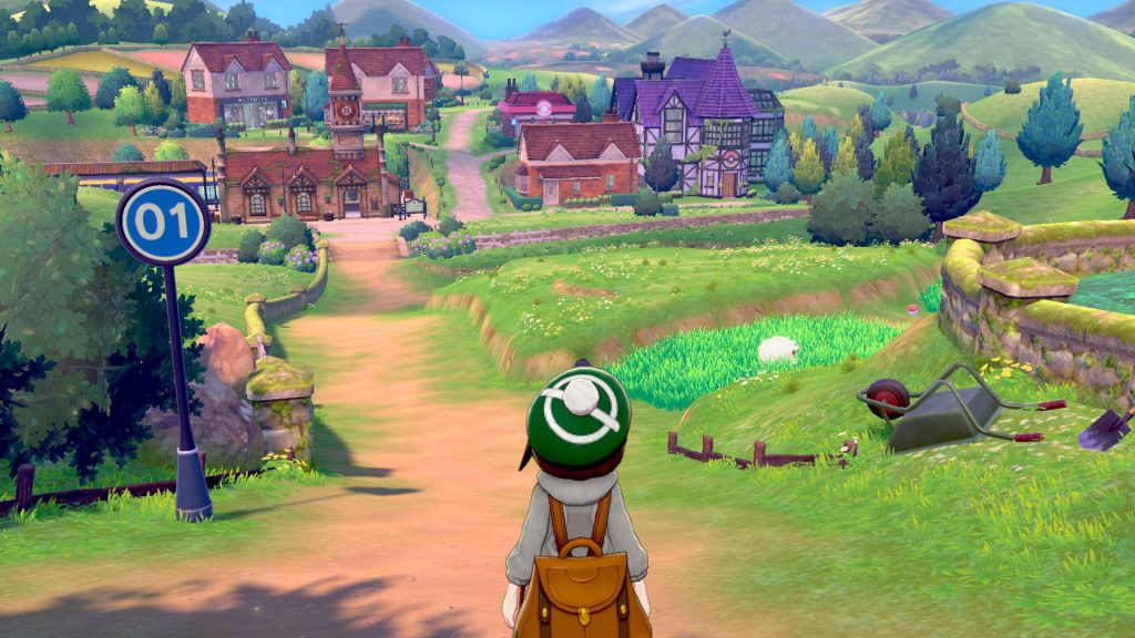 Pokemon Sword and Shield Video Highlights a New Town