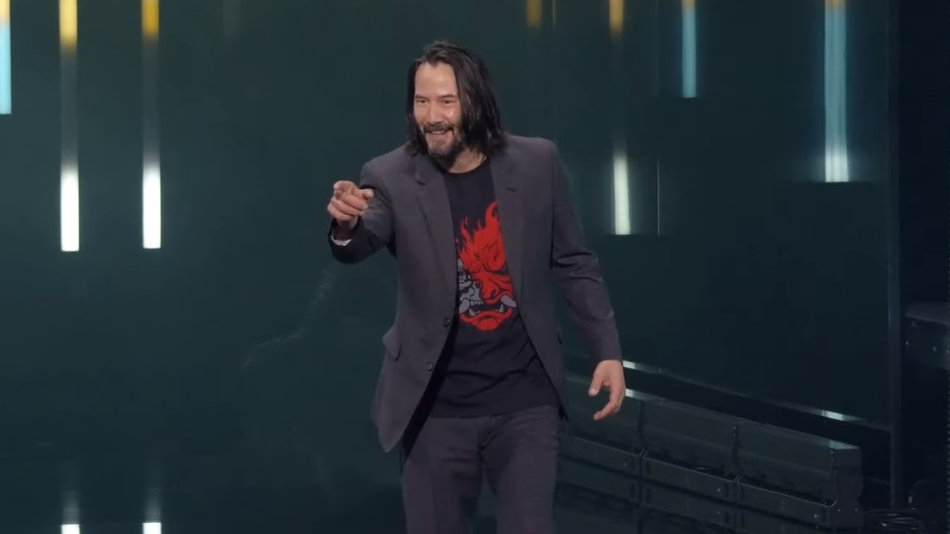 """The Guy Who Screamed """"You're Breathtaking!"""" at Keanu Reeves"""