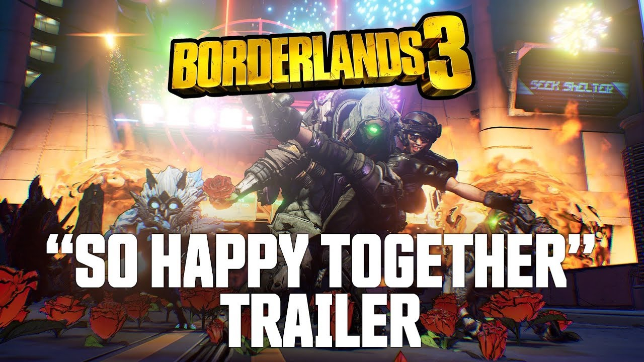 """Borderlands 3 """"So Happy Together"""" Trailer is Extremely Trippy"""