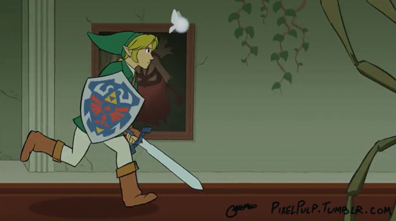 This Incredible Legend Of Zelda Fan Art Takes You Through