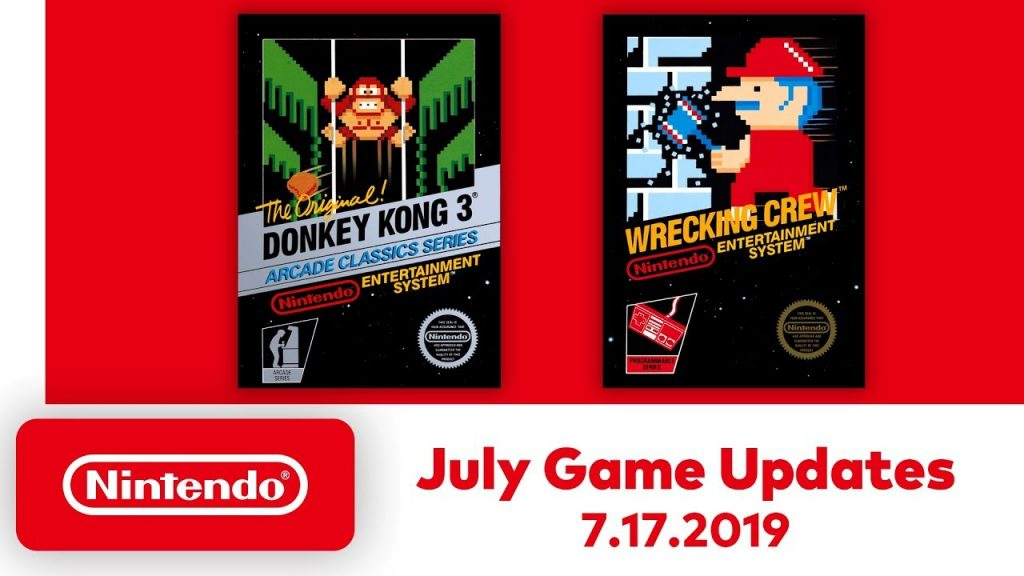 Nintendo Switch Online is Adding Donkey Kong 3, Wrecking Crew, and a Rewind Feature on July 17