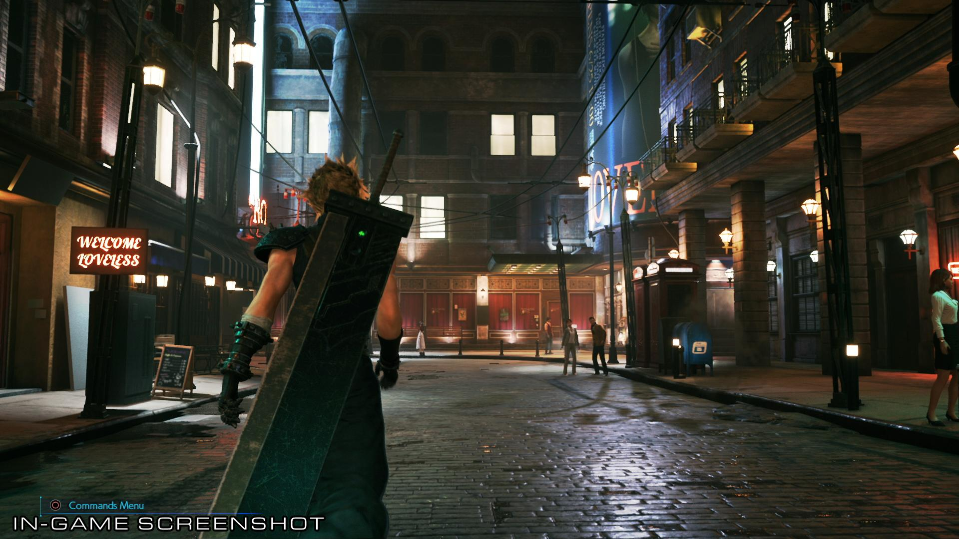 Final Fantasy VII Remake New Concept Art and Image from