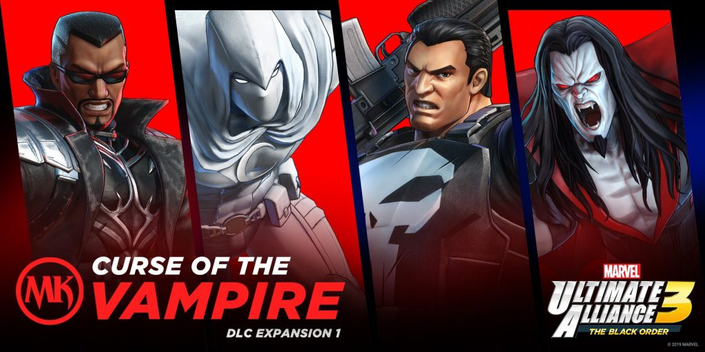 Marvel Ultimate Alliance 3 Will Launch Marvel Knights Expansion on September 30