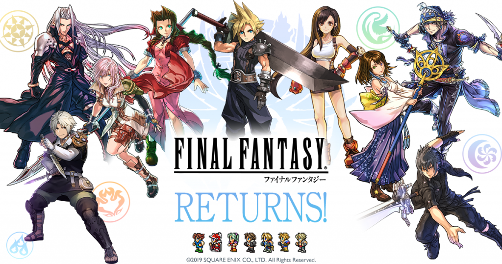 Several Final Fantasy Games Are Crossing Over with Puzzle & Dragons Again