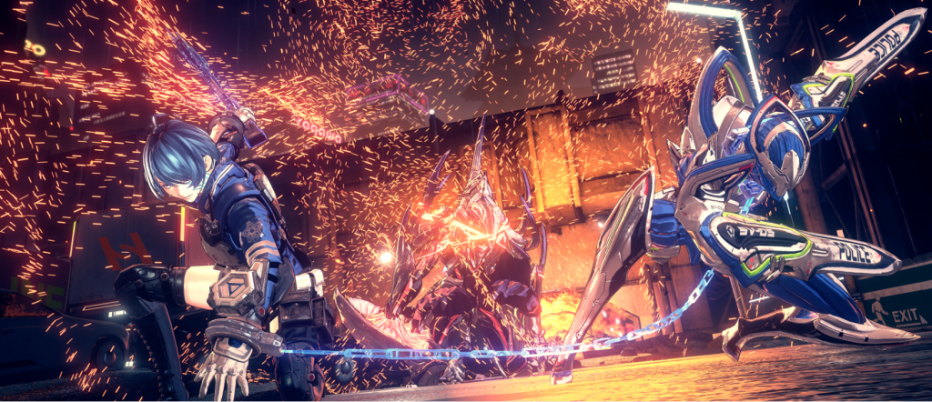 Astral Chain's Visual Effects, PlatinumGames Style, is Front and Center in Latest Dev Blog
