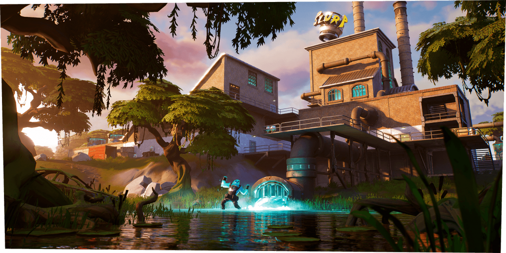 Fortnite Chapter 2 Introduces New Map, Fishing, and New XP System