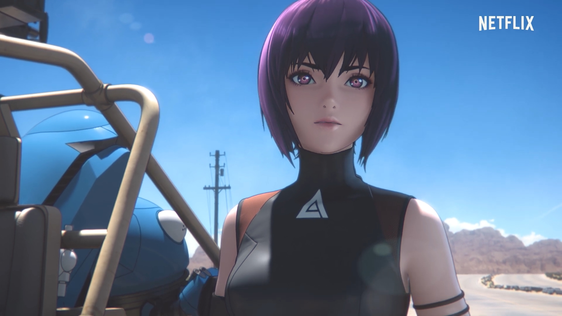 Spring 2020 Start.Ghost In The Shell Sac 2045 New Teaser Reveals Spring 2020