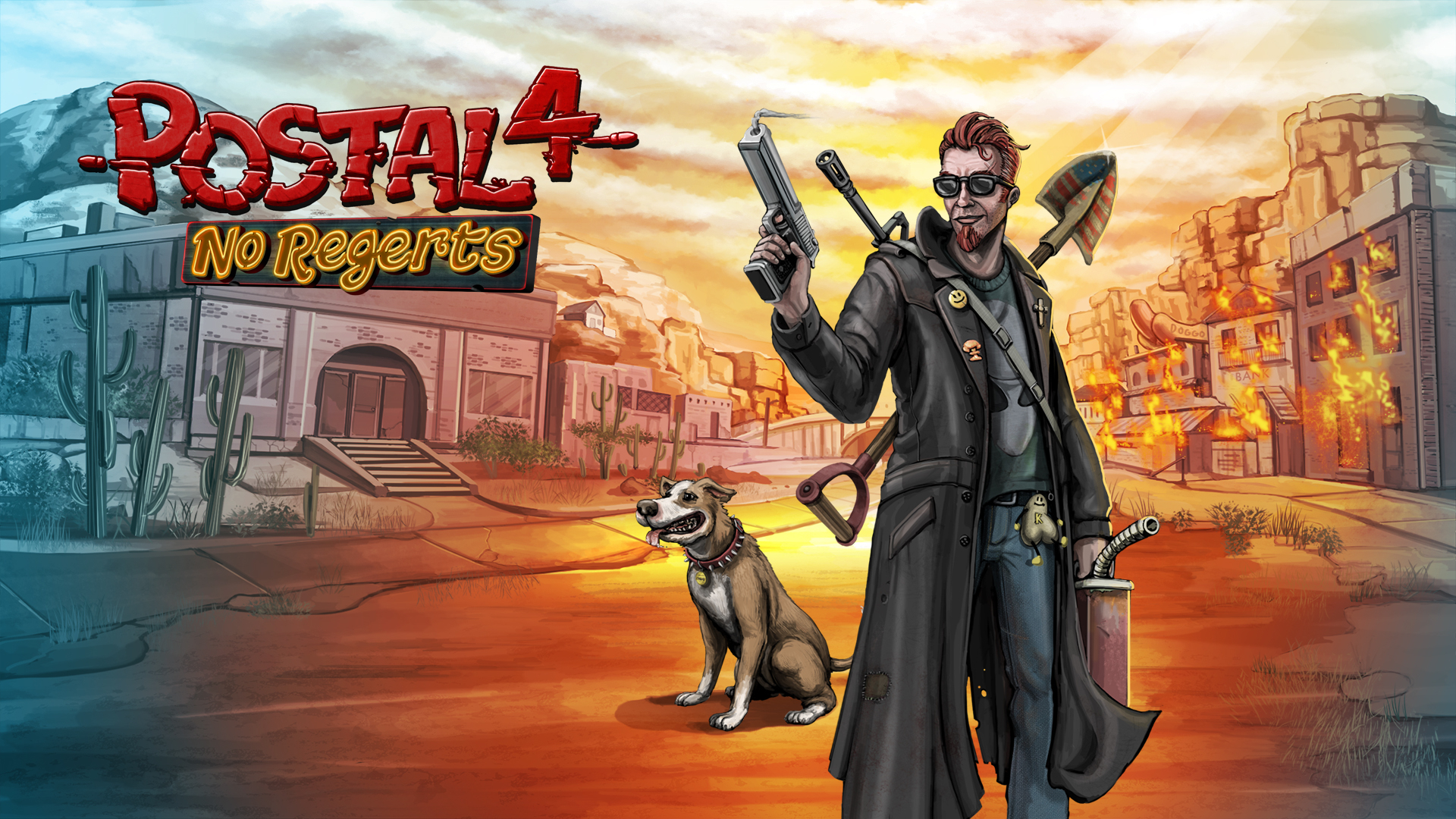 Postal 4 No Regerts Revives The Infamous Series In Steam Early Access