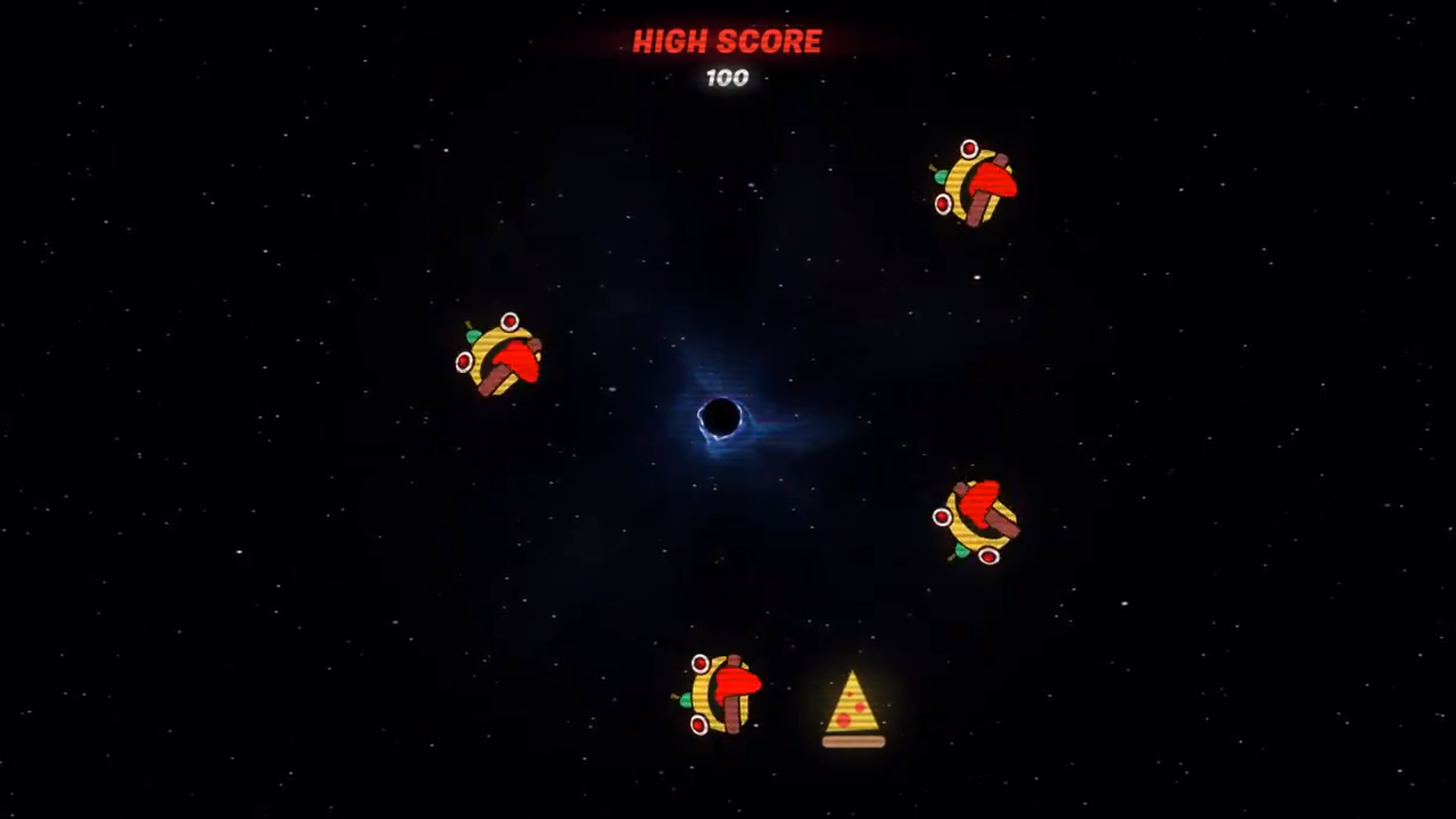 Fortnite S Black Hole Has A Mini Game Activated By The